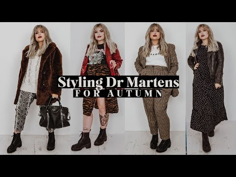 How to Style Dr Martens for Autumn