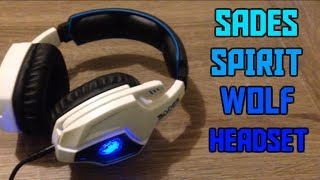 Sades Spirit Wolf Gaming Headset! - Unboxing and Review (WITH MIC TEST!)