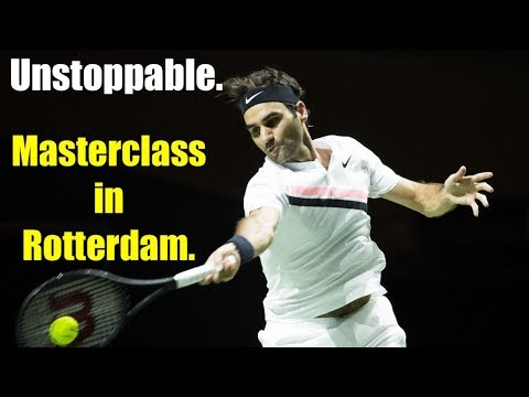 Rotterdam Open: Roger Federer begins his march to No. 1.