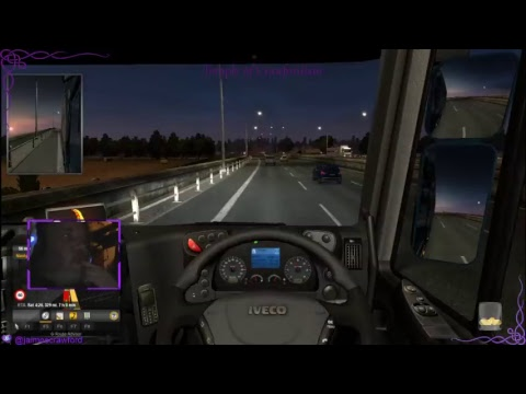 Euro Truck Simulator with Radio Geneva (KTFM) looking to buy our first truck soon