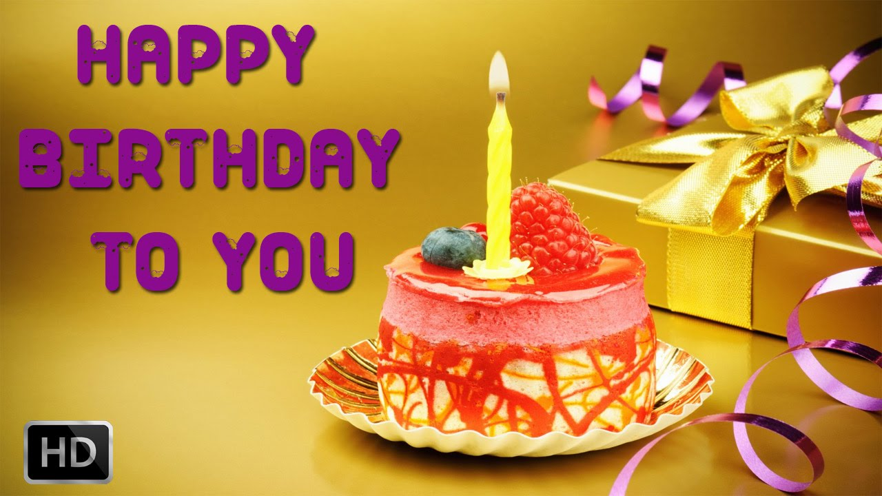 Happy Birthday To You - Birthday Song - Nursery Rhymes - Instrumental -  Sing Along