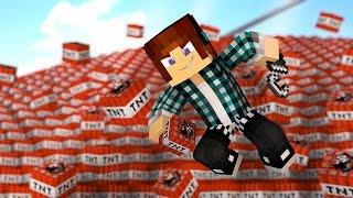 Minecraft: EXPLODINDO 1 MILHÃO DE TNT