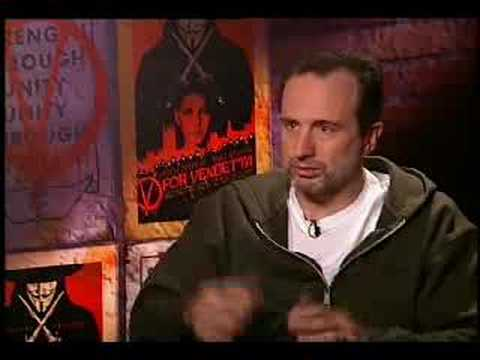 James McTeigue interview for V for Vendetta - YouTube