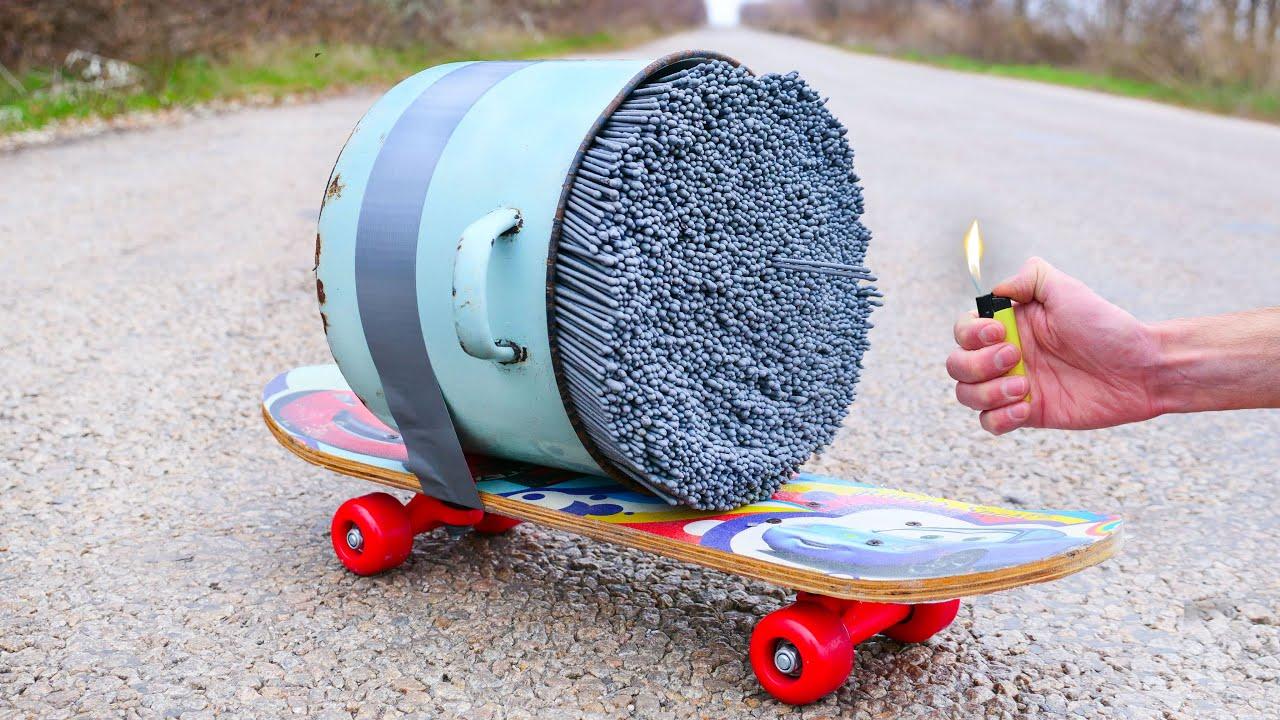 Experiment: Turbo Skateboard