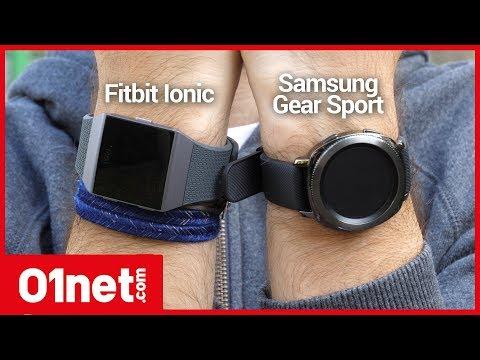 Samsung Gear Sport ou Fitbit Ionic : laquelle choisir pour faire du sport