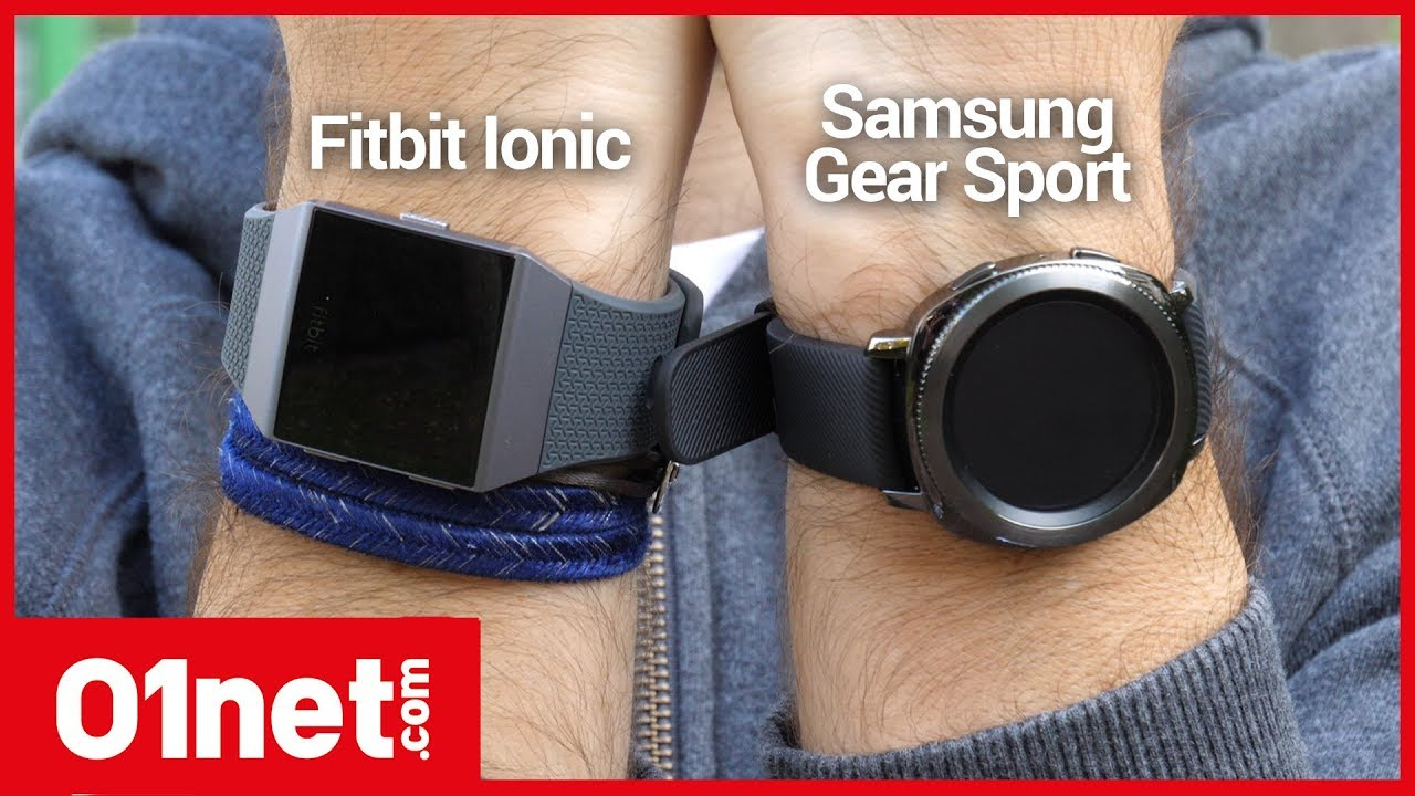 samsung gear sport ou fitbit ionic laquelle choisir pour faire du sport youtube. Black Bedroom Furniture Sets. Home Design Ideas