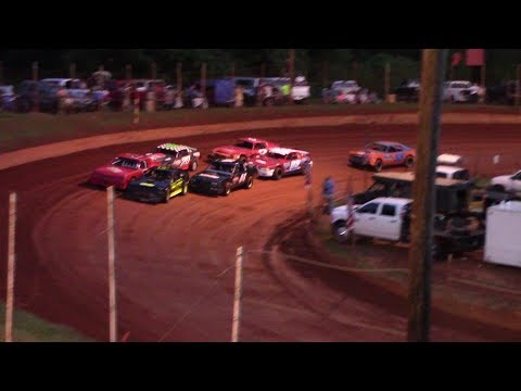 Winder Barrow Speedway Stock Eight Cylinders Feature Race 7/6/19