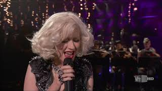 Christina Aguilera performing I'M OK for the first time EVER!! (2010)