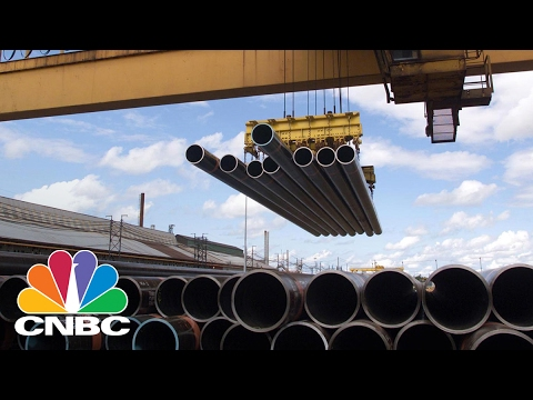 U.S. Steel CEO: We're Fully Capable Of Supplying Steel For Pipelines | Power Lunch | CNBC