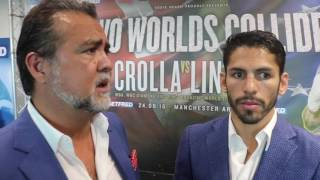 JORGE LINARES & ROBERT DIAZ UNIFICATION CLASH W/ ANTHONY CROLLA, TALKS ZLATICANIN & TERRY FLANAGAN