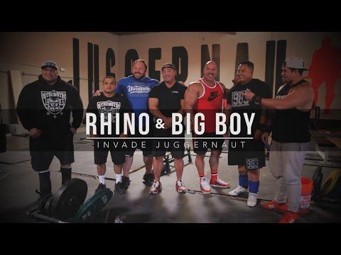 Rhino & Big Boy Invade Juggernaut  JTSstrength.com