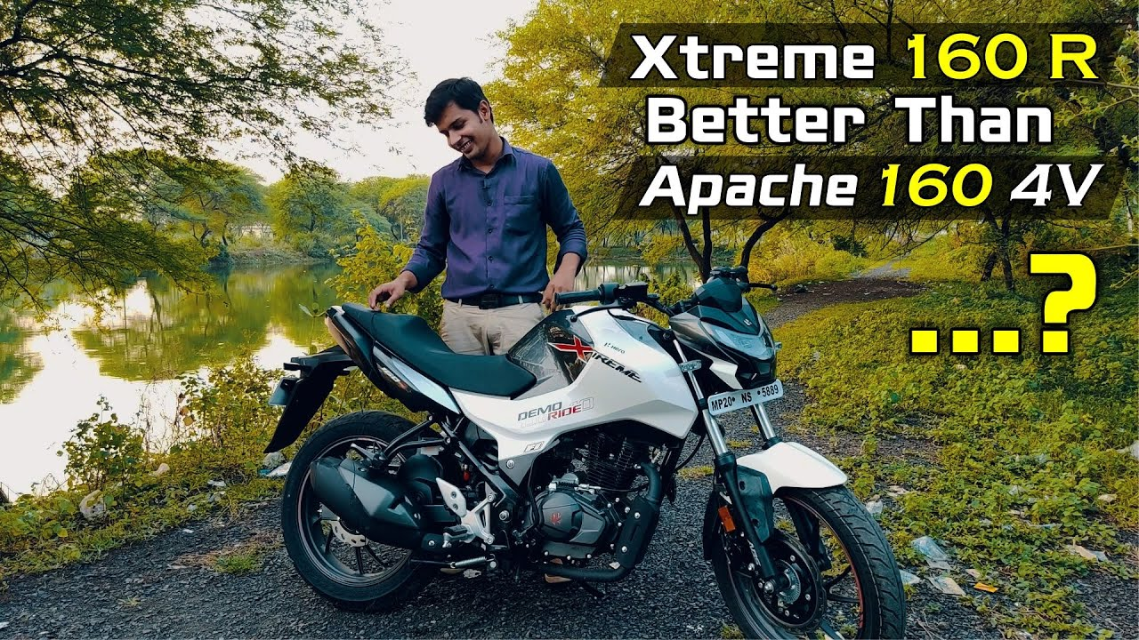 Hero Xtreme 160R Review, Better than Apache RTR 160 4V?