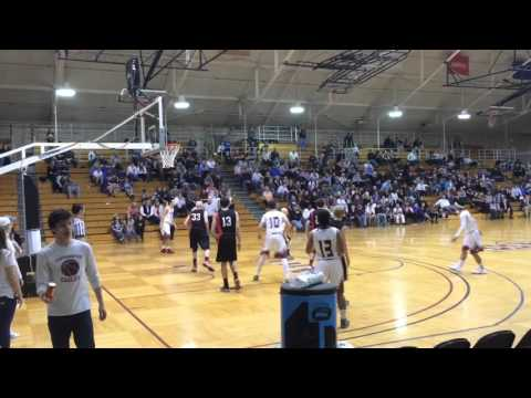 Easthampton boys basketball highlights vs Mt. Greylock D3 semifinal