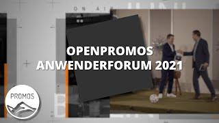 OpenPromos Anwenderforum on Air