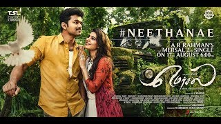 Mersal - neethanae second single song announcement | vijay latest news | atlee | samantha