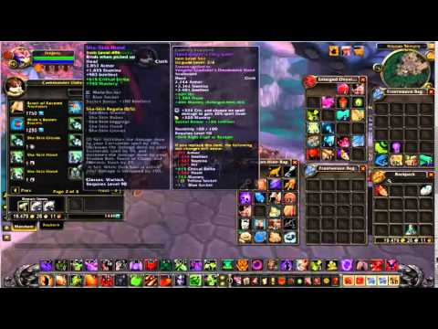 affliction warlock pvp guide 5.4