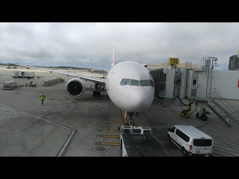 Japan Airlines 777 First Class LAX-NRT