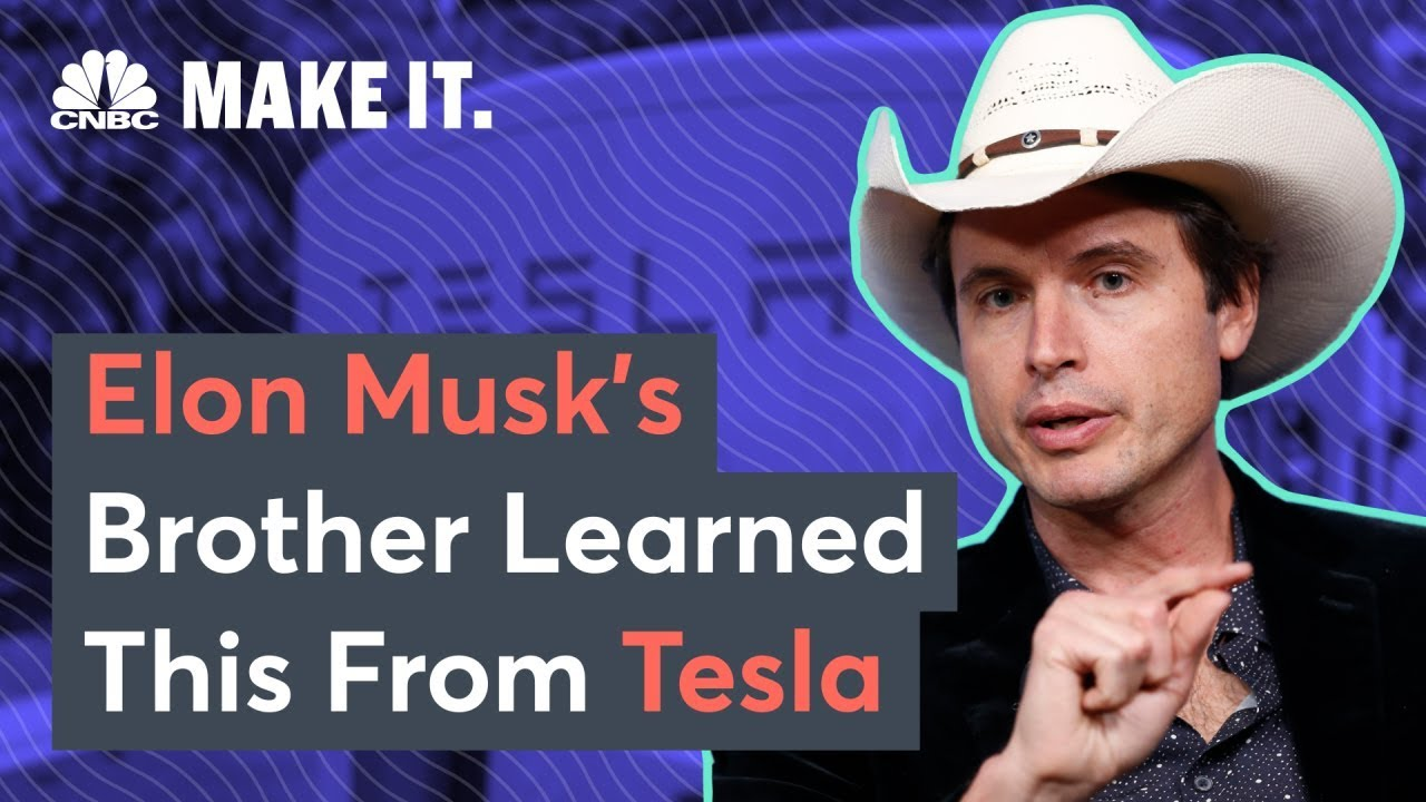 Kimbal Musk talks about Elon, Tesla, and building a mission-driven