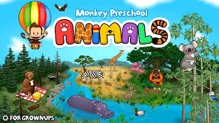 Monkey Preschool Animals - Best App For Kids - iPhone/iPad/iPod Touch