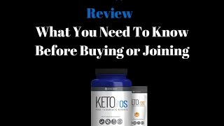 Pruvit Keto OS 3 Min Review | What You Need To Know Before Buying or Joining