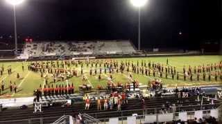 Rome High Marching Band At Creekview 9/19/2014 - A Spanish Fantasy