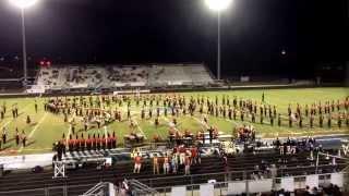 Rome High Marching Band At Creekview 9/19/2014 - A Spanish Fantasy