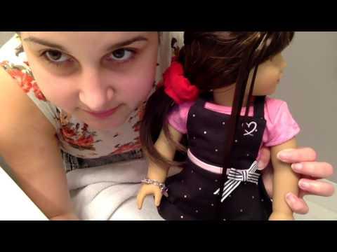 American Girl Hair Care: Straightening A Doll's Hair