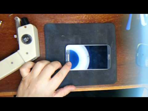 Samsung Galaxy Note II Glass Removal