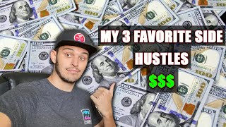 My Three Favorite Side Hustles To Easily Make Over $100 A Day With A Truck Or Trailer!
