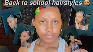 BACK TO SCHOOL HAIRSTYLES ONLY USING CLIPS
