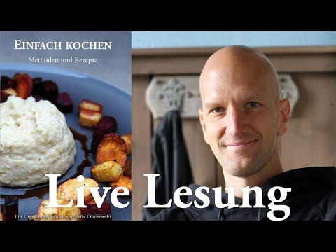 Einfach kochen - Live Lesung und Q&A