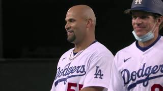 A WILD 9th inning in LA! (Dodgers tie game with 3-run homer, Tauchman ROBS game-winning home run!)