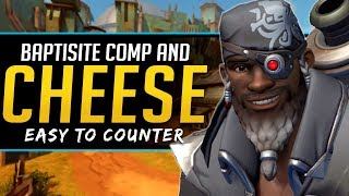 Overwatch Baptiste Going Live! - Cheese Comps Easy Counter