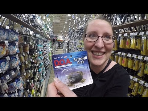 $50 Fishing Gear Challenge - My Wife Gets To Pick All The Gear!!!!