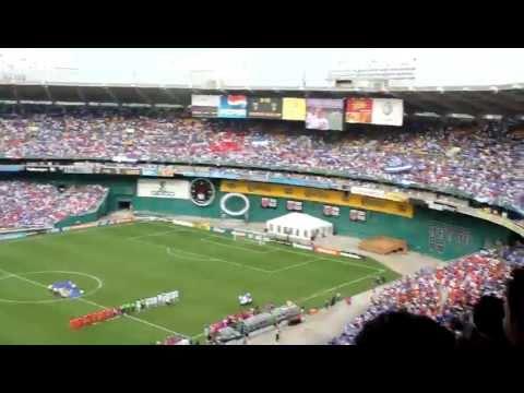 El Salvador vs Panama - Himno Nacional de El Salvador @ RFK Stadium, Washington D.C.