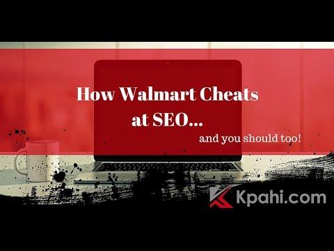 How Walmart Cheats at SEO
