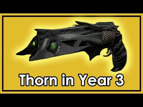 Destiny Rise of Iron: How to Get The Thorn Quest in Year 3 - Exotic Hand Cannon