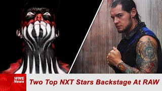 BACKSTAGE REPORT: Two Top NXT Stars Backstage At Raw