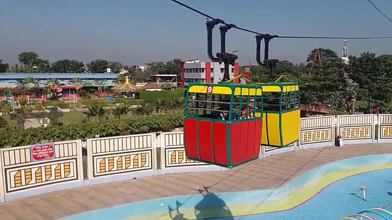 Dream Holiday Park, Narsingdi Air Car Ride of Dream Holiday Park Part 1