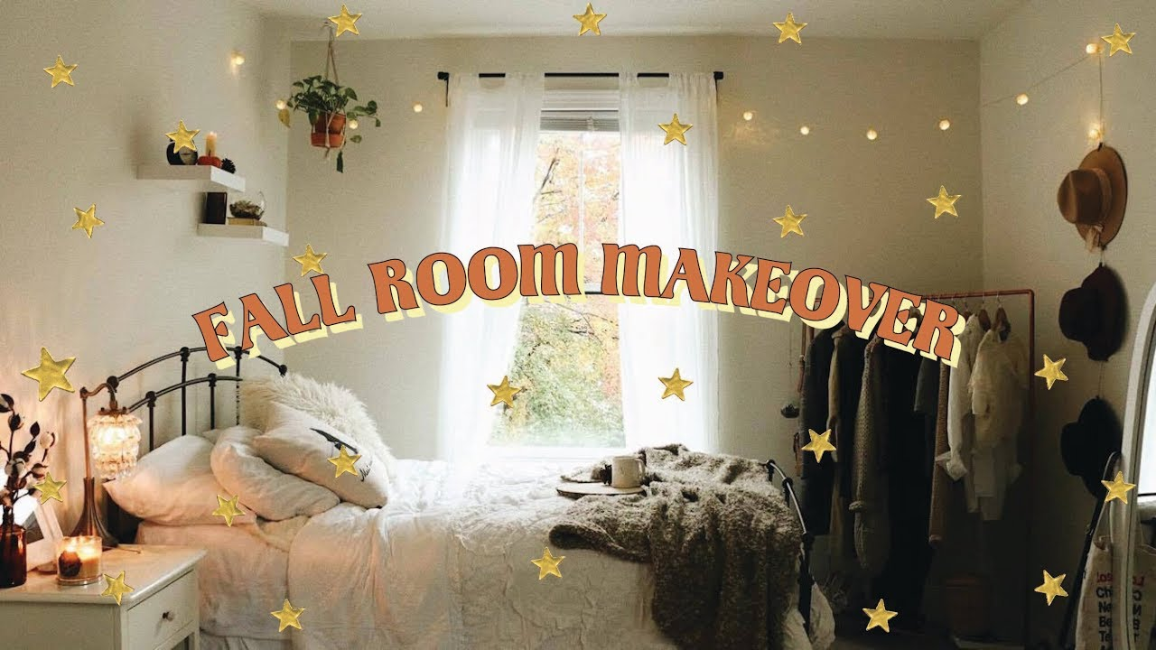 [VIDEO] - FALL ROOM MAKEOVER ?  Under $300 Budget! 6