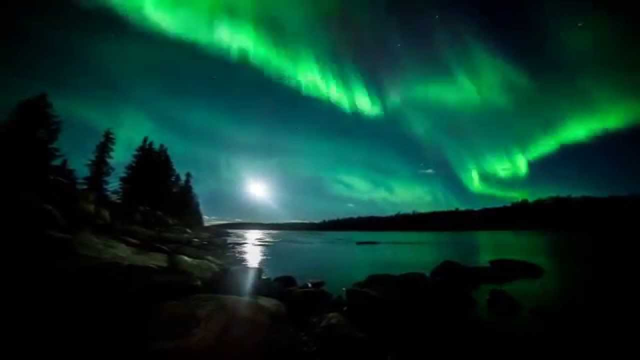 Time Lapse Northern Lights