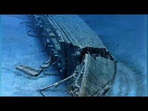 Видео как затонул британик