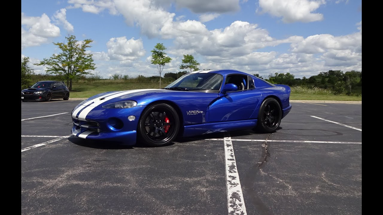 1000 Hp 1996 Dodge Viper Gts M2 Twin Turbo Amp Engine Start