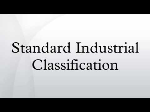 Standard Industrial Classification
