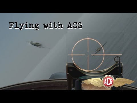 "IL2 Cliffs of Dover - ""Flying with ACG"""