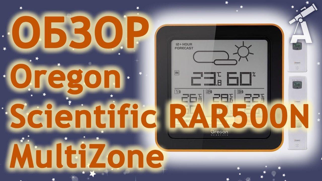 Обзор Oregon Scientific TW396 - YouTube