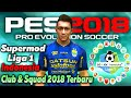 Download Pes 2018 Jogress V3 Mod Liga Gojek Traveloka Indonesia Squad terbaru 2018 | Pasang Over Cpk