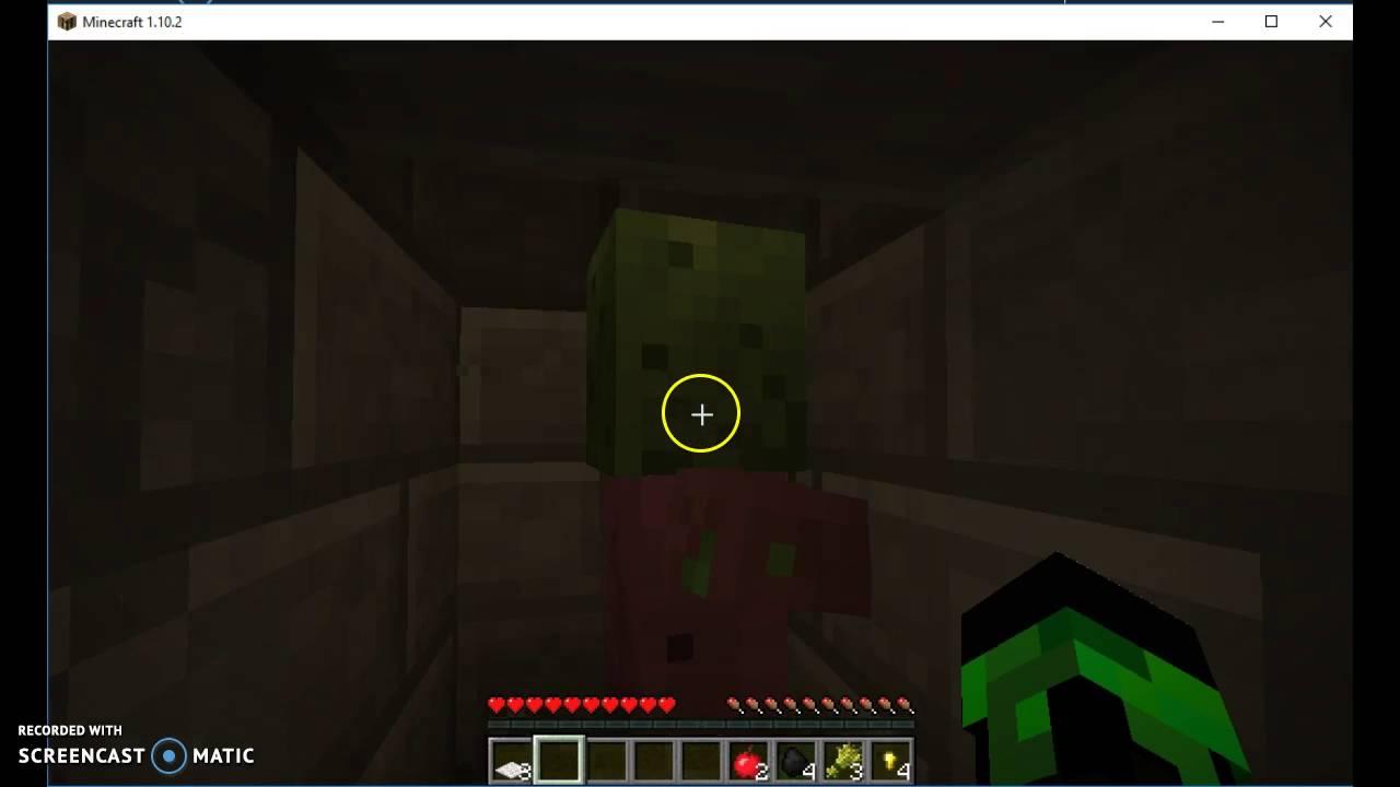 Minecraft Exploring A Igloo Plus Secret Basement Brookelynn