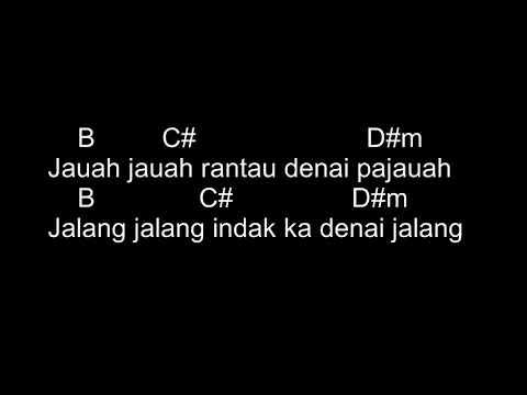Ipank - Rantau Den Pajauah (Ft Rayola) - (Chord & Lyric)