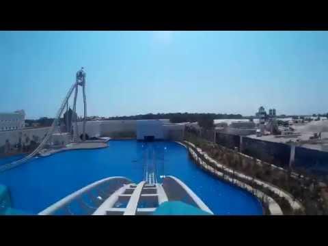 Typhoon (Water) Coaster POV OnRide | Land of Legends Park/Rixos World, Antalya